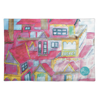 CTC International - Houses Placemats