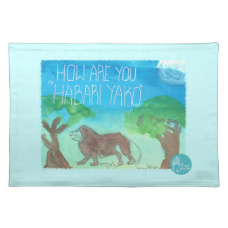 CTC International - How Are You Place Mats