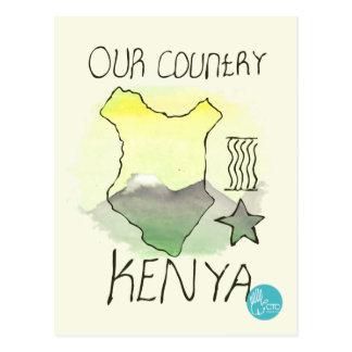 CTC International - Kenya Postcard