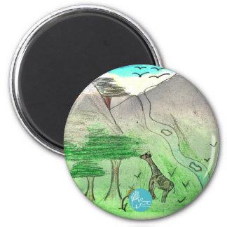 CTC International - Landscape 6 Cm Round Magnet
