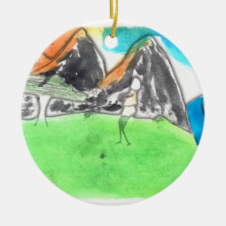 CTC International - Man and River Ornament