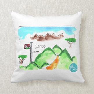CTC International - Map Throw Pillows