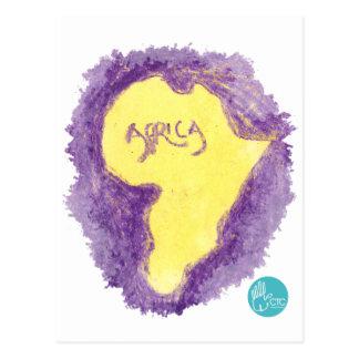 CTC International - Purple Postcard
