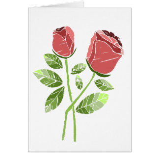 CTC International -  Roses Greeting Card