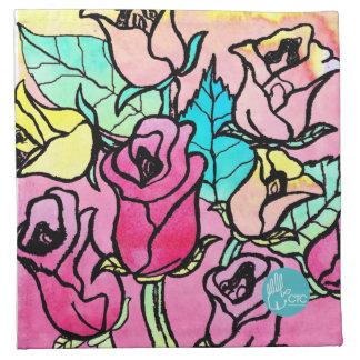 CTC International - Roses Napkin