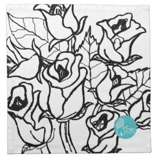 CTC International - Roses Napkins