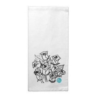 CTC International - Roses Printed Napkin