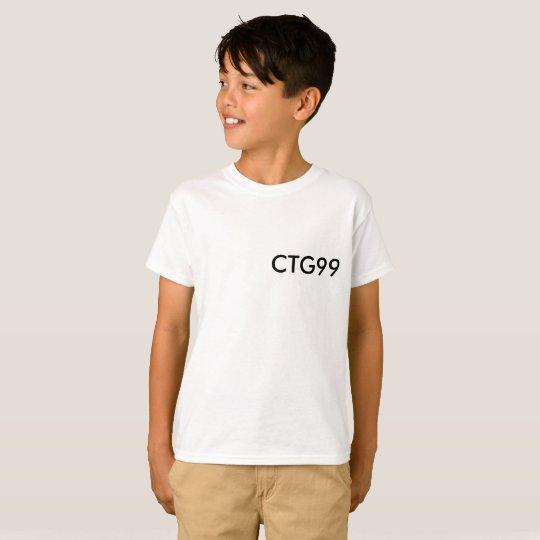 CTG99 Basic White T-Shirt (Kids)