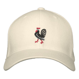 CTG Rooster Embroidered Hat