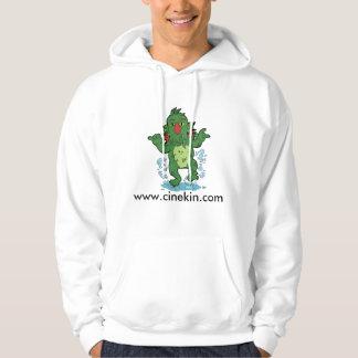 Cthonikin on a hoodie