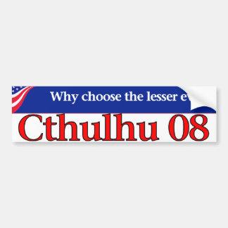 Cthulhu 08 bumper stickers