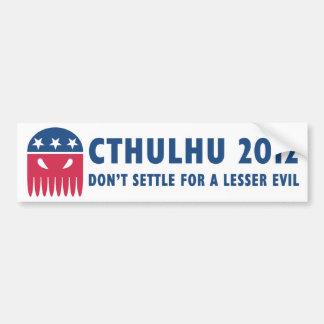 Cthulhu 2012 bumper sticker