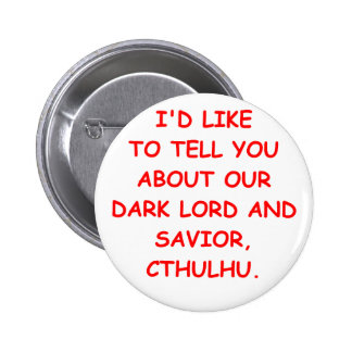 cthulhu 6 cm round badge
