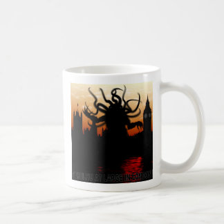 Cthulhu at large in London Classic White Coffee Mug