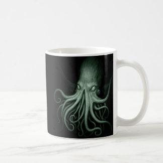 cthulhu basic white mug