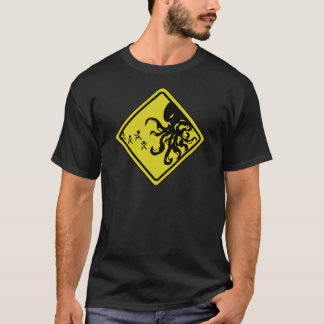Cthulhu Caution T-shirt