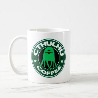 Cthulhu Coffee Basic White Mug