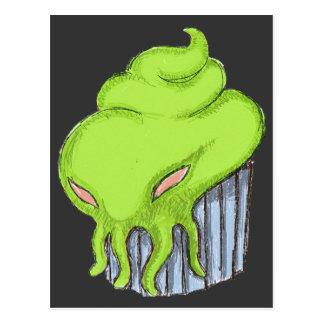 Cthulhu Cupcake Postcard