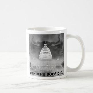 Cthulhu Does DC Basic White Mug