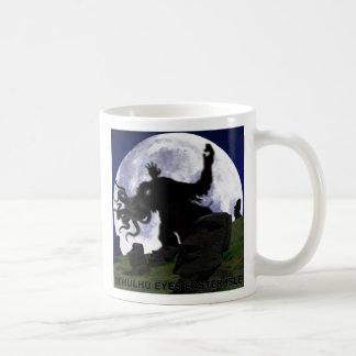 Cthulhu eyes Easter Isle Basic White Mug