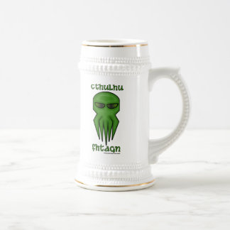 Cthulhu Fhtagn Beer Stein