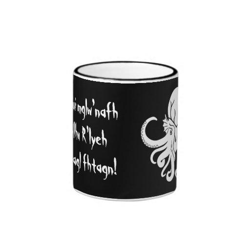 Cthulhu Fhtagn Coffee Mugs