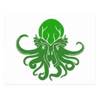 Cthulhu Fhtagn Postcards