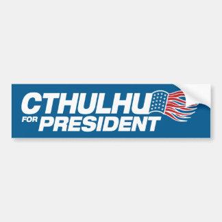 Cthulhu for President Bumper Sticker