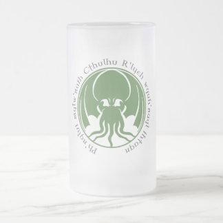 Cthulhu Frosted Glass Mug