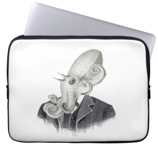 Cthulhu Gentleman Vintage Illustration Laptop Case Laptop Computer Sleeves