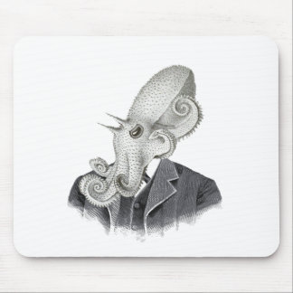 Cthulhu Gentleman Vintage Illustration Mousepad