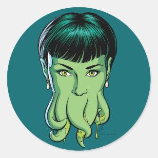 Cthulhu Girl Sticker