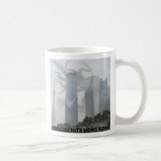 Cthulhu hits Hong Kong Basic White Mug