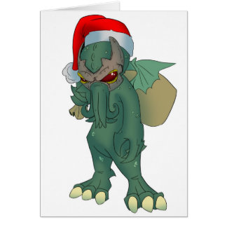 Cthulhu Holiday Card
