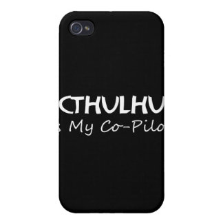 Cthulhu Is My Co-Pilot iPhone 4/4S Case