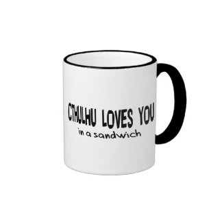 Cthulhu Loves You Coffee Mugs