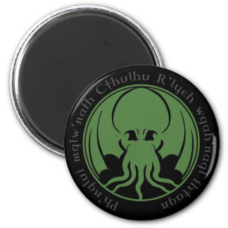 Cthulhu 6 Cm Round Magnet