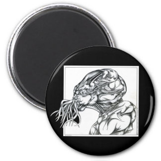 Cthulhu 6 Cm Round Magnet