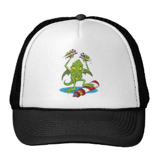 Cthulhu Monster Design by Poisoned Playground Cap