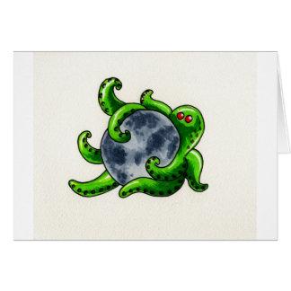 Cthulhu Moon Card