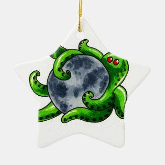 Cthulhu Moon Christmas Ornament