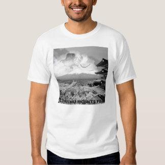 Cthulhu Mounts Fuji Shirt