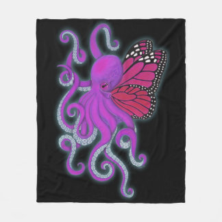Cthulhu of Another Color Fleece Blanket