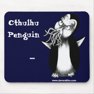 Cthulhu Penguin: .... Mouse Pad