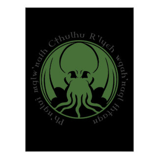 Cthulhu Poster
