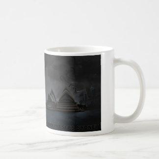 Cthulhu Sees Sydney Basic White Mug
