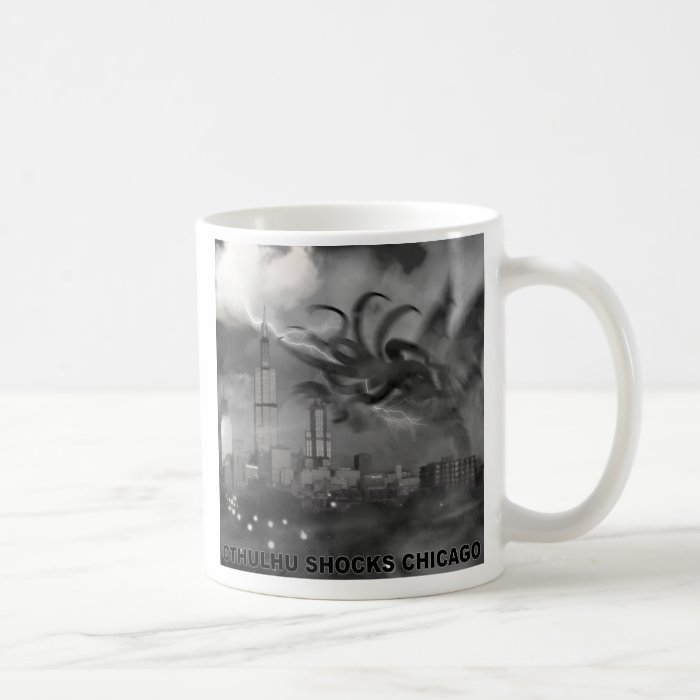 Cthulhu Shocks Chicago Coffee Mug