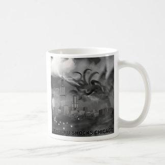 Cthulhu Shocks Chicago Basic White Mug