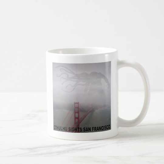 Cthulhu Sights San Francisco Coffee Mug
