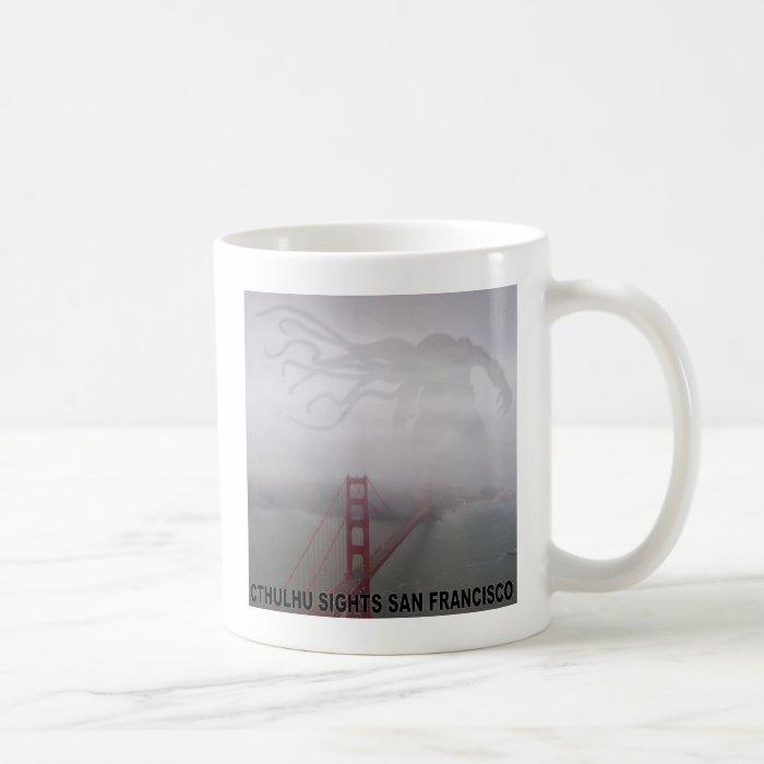 Cthulhu Sights San Francisco Coffee Mug